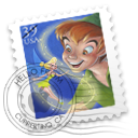 Peter Pan Stamp 小飞侠