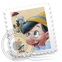 pinnochio stamp