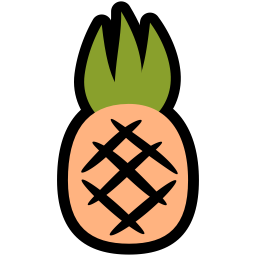 if_pineapple_菠萝PNG图标
